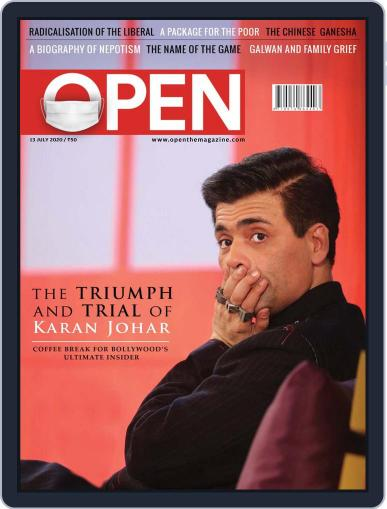 Open India July 3rd, 2020 Digital Back Issue Cover