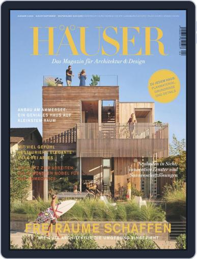 Häuser (Digital) August 1st, 2020 Issue Cover