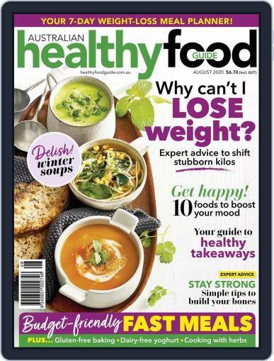 Healthy Food Guide (Digital) August 1st, 2020 Issue Cover