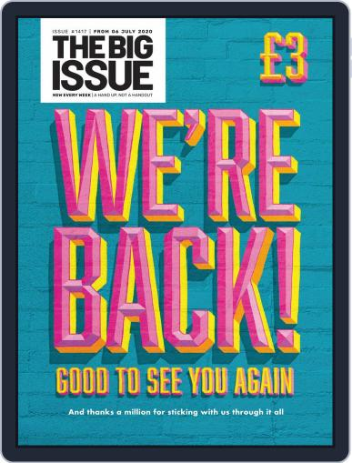 The Big Issue (Digital) July 6th, 2020 Issue Cover