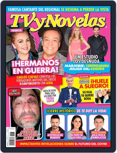 TV y Novelas México (Digital) July 6th, 2020 Issue Cover