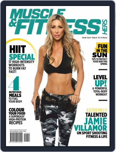 Muscle & Fitness Hers South Africa July 1st, 2020 Digital Back Issue Cover