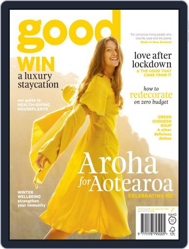 Good June 1st, 2020 Digital Back Issue Cover