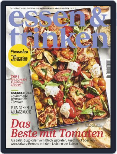 essen&trinken August 1st, 2020 Digital Back Issue Cover
