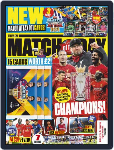 Match Of The Day (Digital) July 7th, 2020 Issue Cover