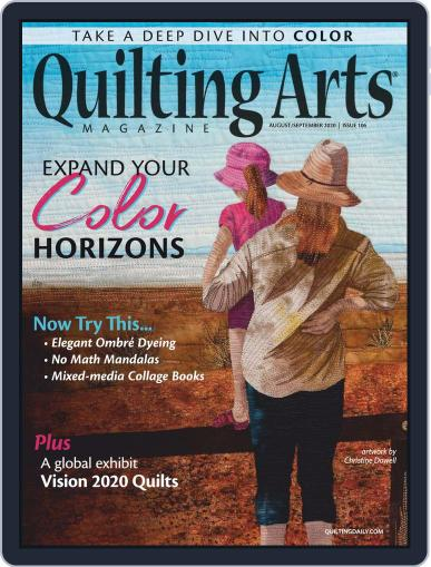 Quilting Arts (Digital) August 1st, 2020 Issue Cover
