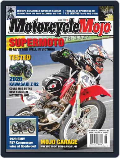 Motorcycle Mojo August 1st, 2020 Digital Back Issue Cover