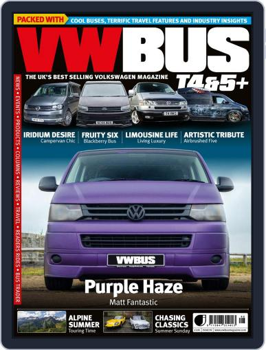 VW Bus T4&5+ (Digital) June 25th, 2020 Issue Cover