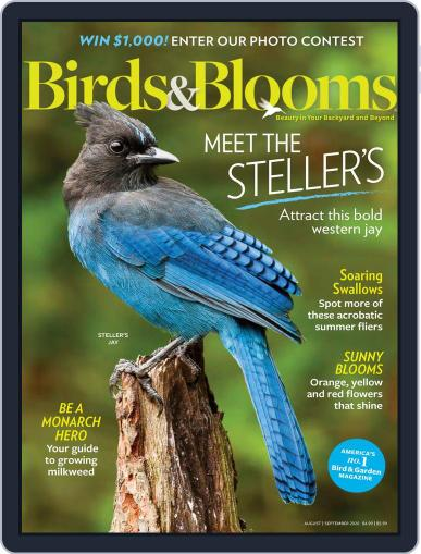 Birds & Blooms (Digital) August 1st, 2020 Issue Cover