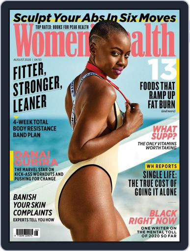 Women's Health UK (Digital) August 1st, 2020 Issue Cover