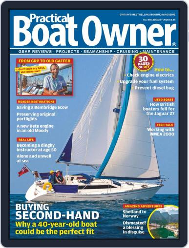 Practical Boat Owner (Digital) August 1st, 2020 Issue Cover