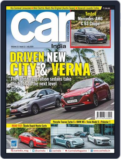 Car India July 1st, 2020 Digital Back Issue Cover