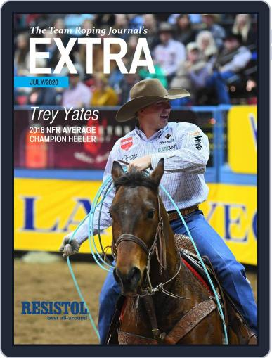 The Team Roping Journal (Digital) July 1st, 2020 Issue Cover