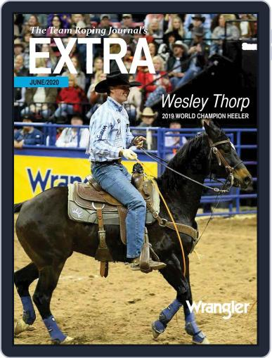The Team Roping Journal (Digital) June 1st, 2020 Issue Cover