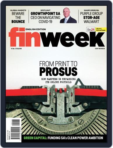 Finweek - English (Digital) July 16th, 2020 Issue Cover