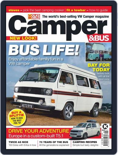 VW Camper & Bus August 1st, 2020 Digital Back Issue Cover