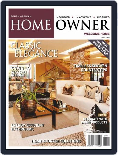 South African Home Owner (Digital) July 1st, 2020 Issue Cover
