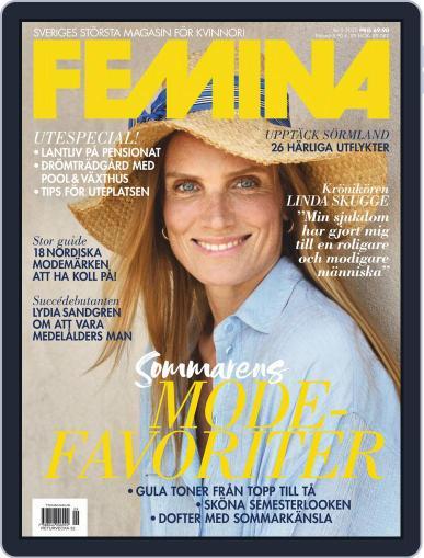 Femina Sweden (Digital) September 1st, 2020 Issue Cover