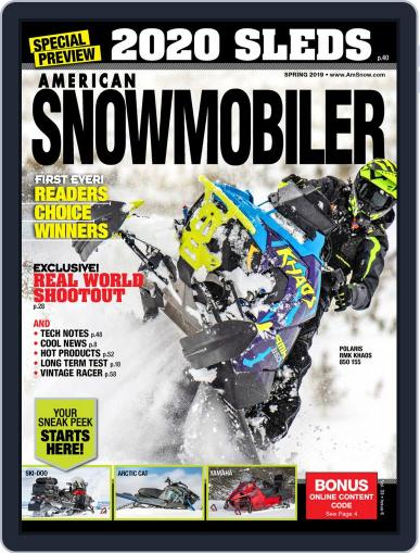 American Snowmobiler Magazine (Digital) March 1st, 2019 Issue Cover