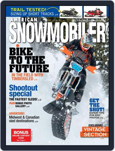 American Snowmobiler Magazine (Digital) February 1st, 2019 Issue Cover