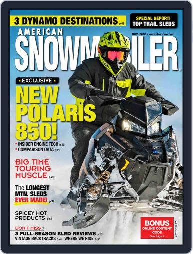 American Snowmobiler Magazine (Digital) November 1st, 2018 Issue Cover