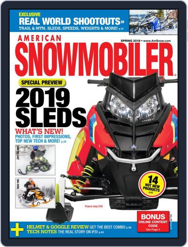 American Snowmobiler Magazine (Digital) March 1st, 2018 Issue Cover