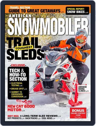 American Snowmobiler Magazine (Digital) November 1st, 2017 Issue Cover