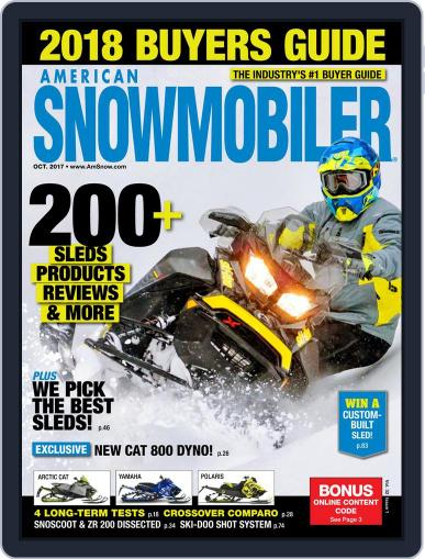 American Snowmobiler Magazine (Digital) October 1st, 2017 Issue Cover