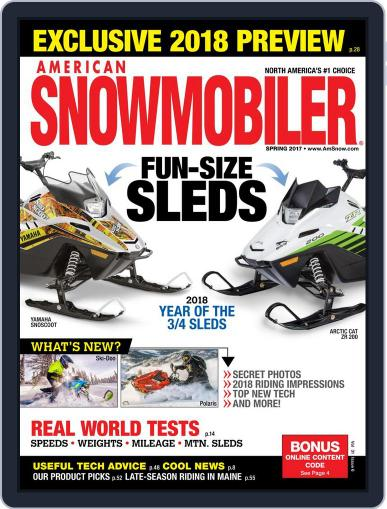 American Snowmobiler Magazine (Digital) March 1st, 2017 Issue Cover