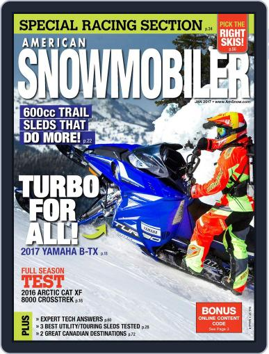 American Snowmobiler Magazine (Digital) January 1st, 2017 Issue Cover
