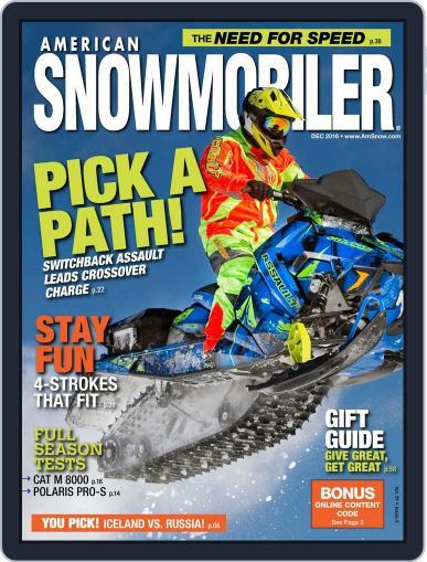 American Snowmobiler Magazine (Digital) December 1st, 2016 Issue Cover