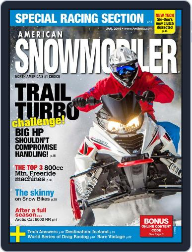 American Snowmobiler Magazine (Digital) January 1st, 2016 Issue Cover