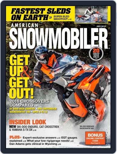 American Snowmobiler Magazine (Digital) December 1st, 2015 Issue Cover