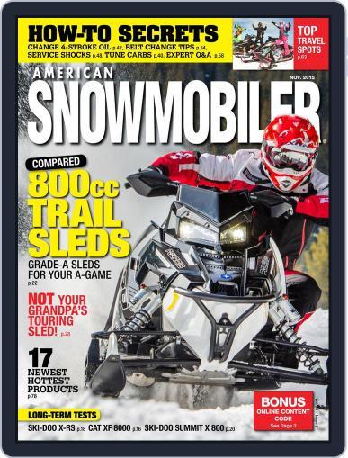 American Snowmobiler Magazine (Digital) November 1st, 2015 Issue Cover