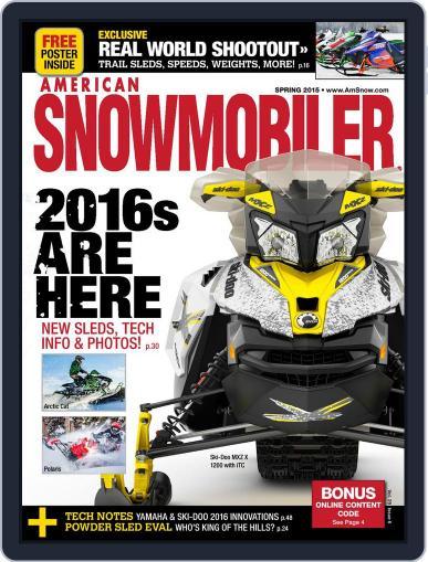 American Snowmobiler Magazine (Digital) March 13th, 2015 Issue Cover