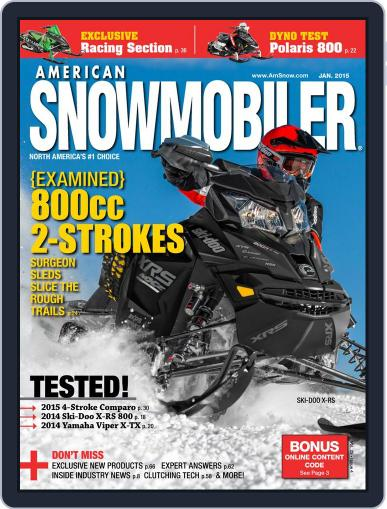 American Snowmobiler Magazine (Digital) January 1st, 2015 Issue Cover