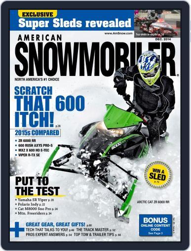 American Snowmobiler Magazine (Digital) December 1st, 2014 Issue Cover