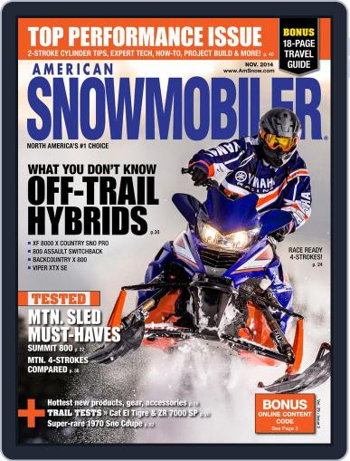 American Snowmobiler Magazine (Digital) October 2nd, 2014 Issue Cover