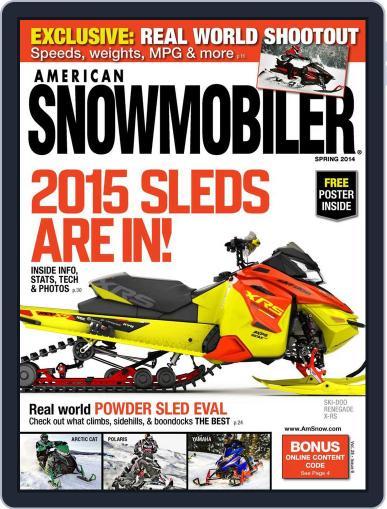 American Snowmobiler Magazine (Digital) March 14th, 2014 Issue Cover