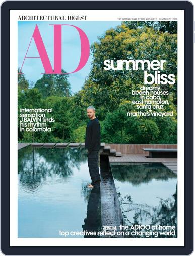 Architectural Digest July 1st, 2020 Digital Back Issue Cover
