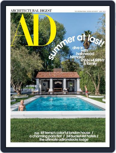 Architectural Digest June 1st, 2020 Digital Back Issue Cover