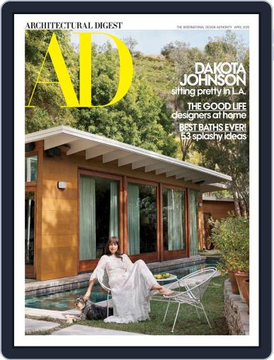 Architectural Digest April 1st, 2020 Digital Back Issue Cover