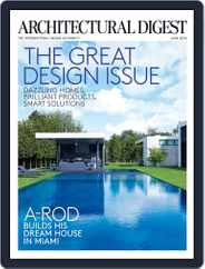 Architectural Digest (Digital) Subscription June 1st, 2016 Issue