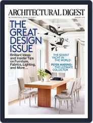 Architectural Digest (Digital) Subscription November 1st, 2014 Issue