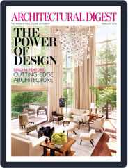 Architectural Digest (Digital) Subscription January 9th, 2013 Issue