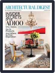Architectural Digest (Digital) Subscription December 21st, 2012 Issue