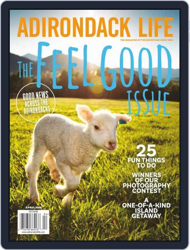 Adirondack Life (Digital) March 1st, 2020 Issue Cover