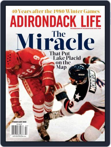 Adirondack Life (Digital) January 1st, 2020 Issue Cover