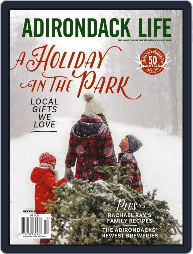 Adirondack Life (Digital) November 1st, 2019 Issue Cover