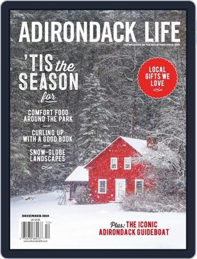 Adirondack Life (Digital) November 1st, 2018 Issue Cover